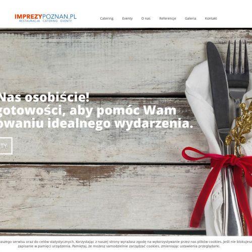 Catering na imprezy okolicznościowe w Poznaniu
