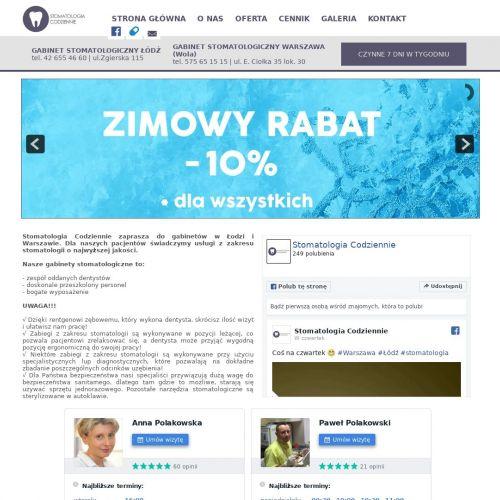 Piaskowanie zębów Warszawa