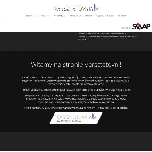 Zajęcia artystyczne Warszawa