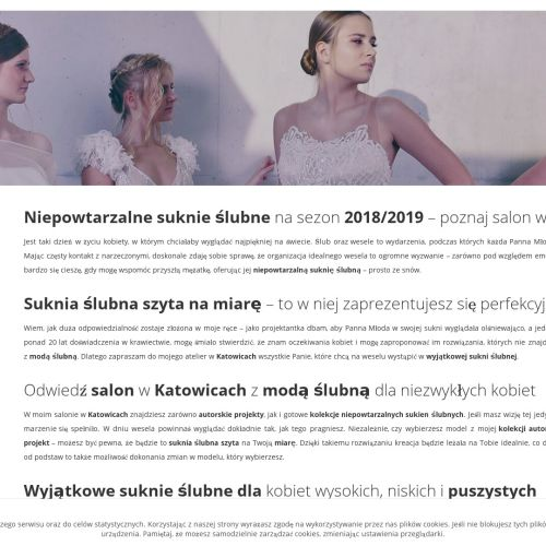 Kolekcje ślubne w Katowicach