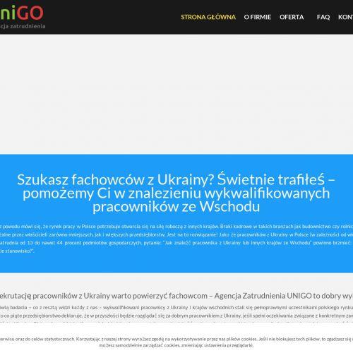 Szlifierz z ukrainy w Szczecinie