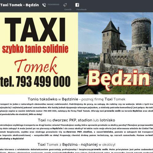 Taksówka Będzin