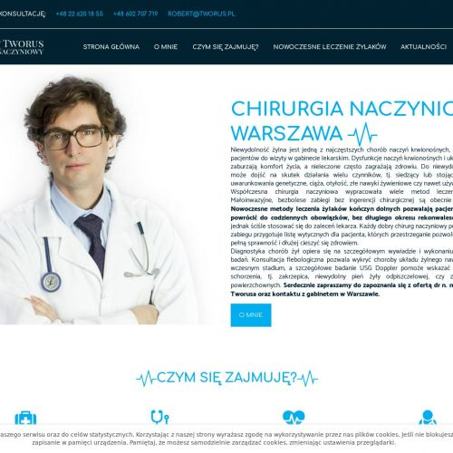 Chirurgia naczyniowa w Warszawie