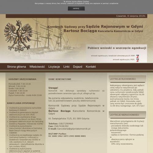 Gdynia - aukcje komornicze