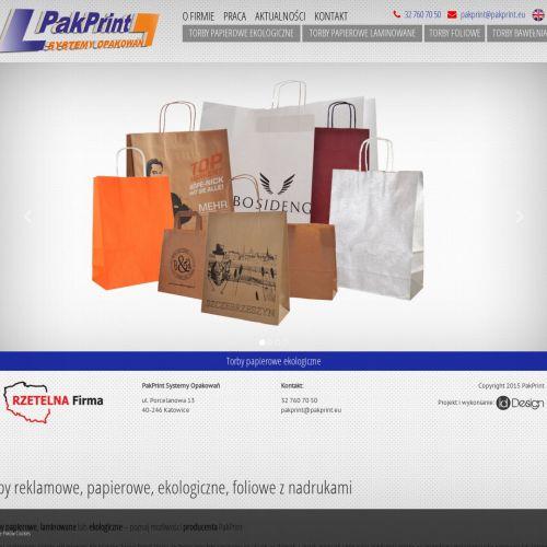 Torby papierowe reklamowe w Krakowie