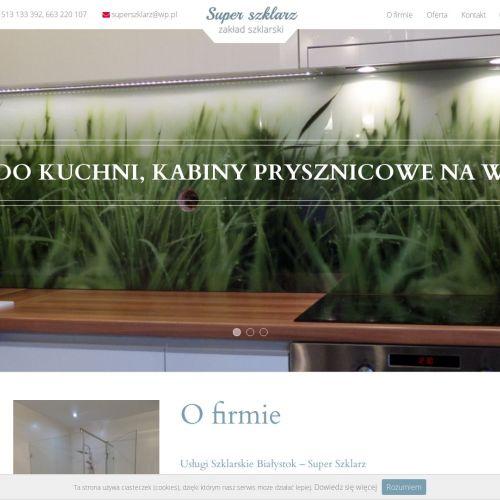 Kabiny prysznicowe Białystok