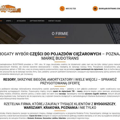 Części do pojazdów ciężarowych w Poznaniu
