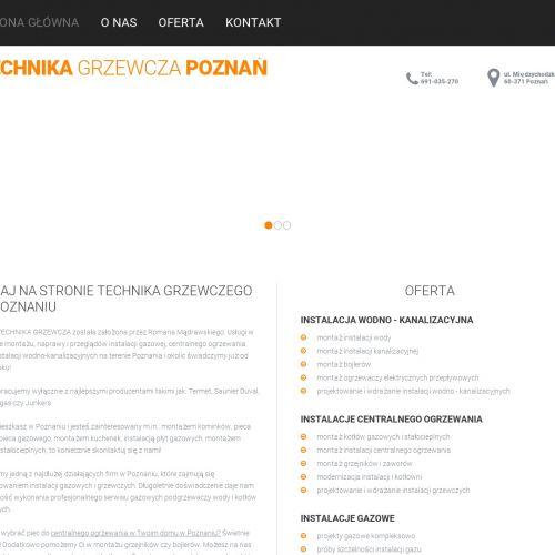 Poznań - montaż instalacji centralnego ogrzewania