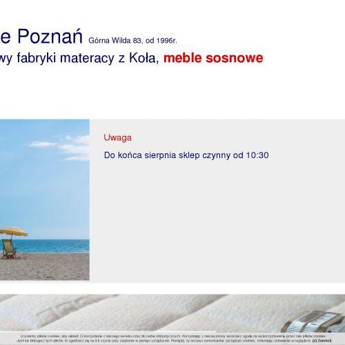 Sypialnie w Poznaniu