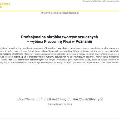 Poznań - kasetony reklamowe