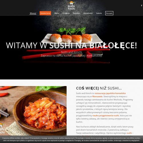 Warsztaty sushi na urodziny w Warszawie