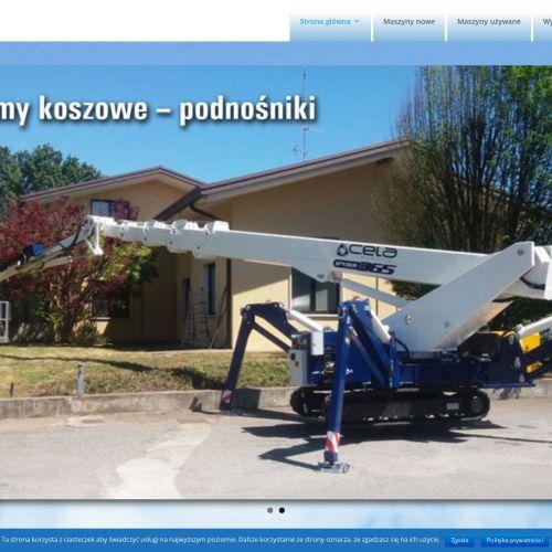 Roboty do szyb w Warszawie