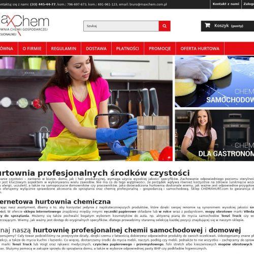 Internetowa hurtownia chemiczna