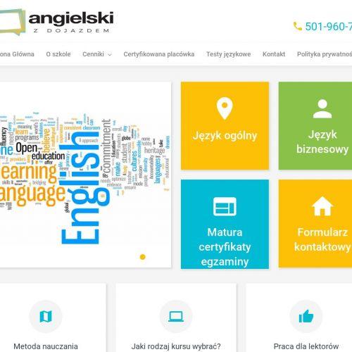 Warszawa - angielski online skype