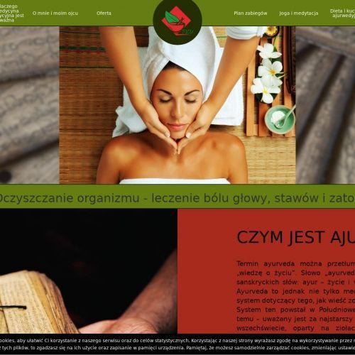 Masaż ajurwedyjski kurs