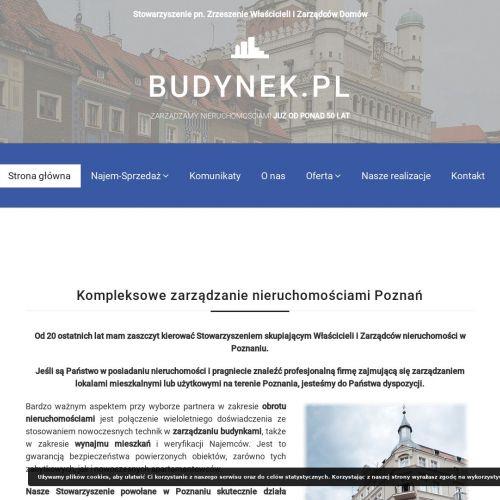Obsługa kamienic - Poznań