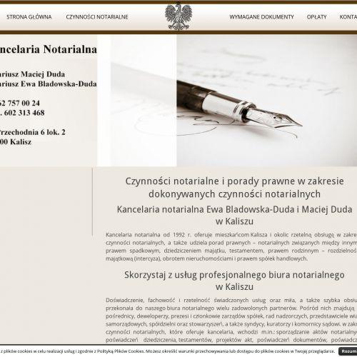 Akt notarialny Kalisz