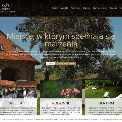 Dom weselny nad stawem w Poznaniu