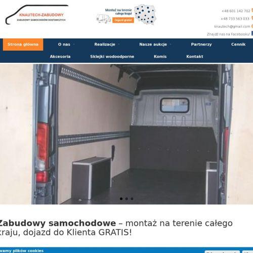 Zabudowa przestrzeni ładunkowej auta w Poznaniu