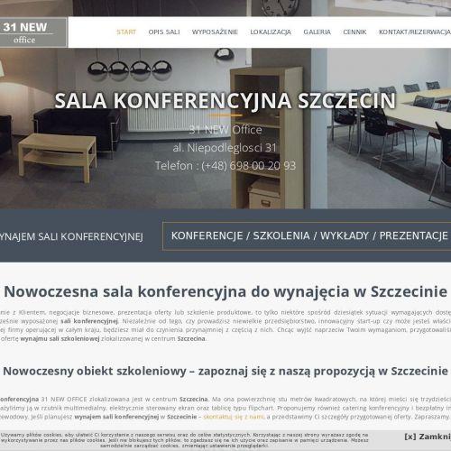 Sale szkoleniowe do wynajęcia - Szczecin