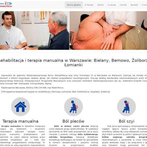 Rehabilitacja po operacji biodra - Warszawa