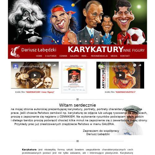 Poznań - karykatura sportowca