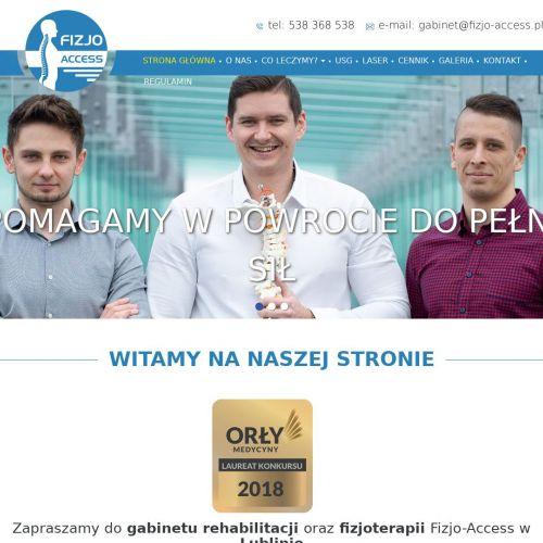 Gabinet rehabilitacji Lublin