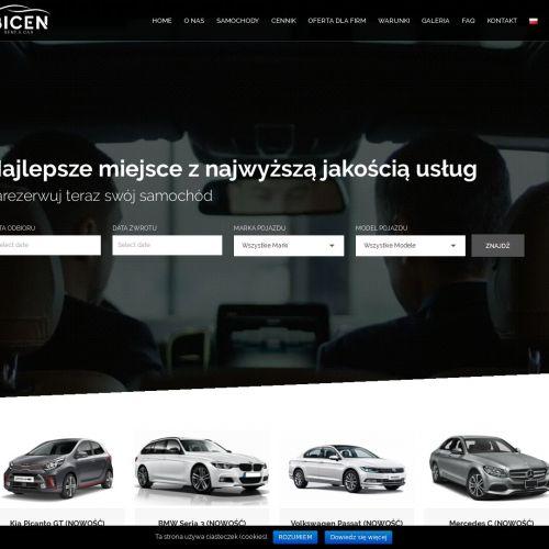 Audi a4 wynajem w Warszawie