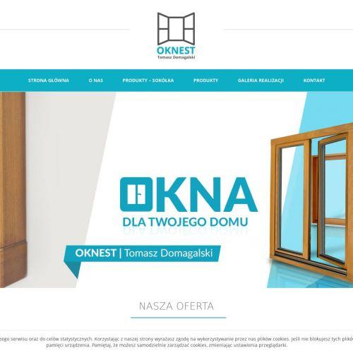 Drzwi drewniane w Toruniu