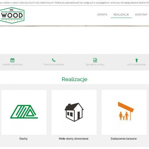 Budowa drewnianych domków letniskowych łódź w Łodzi