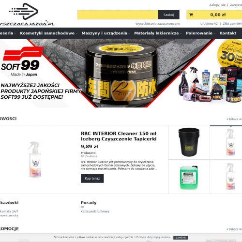 Kosmetyki samochodowe soft99