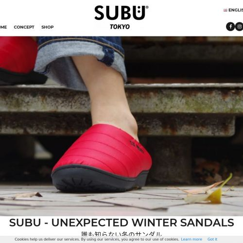 Winter sandals