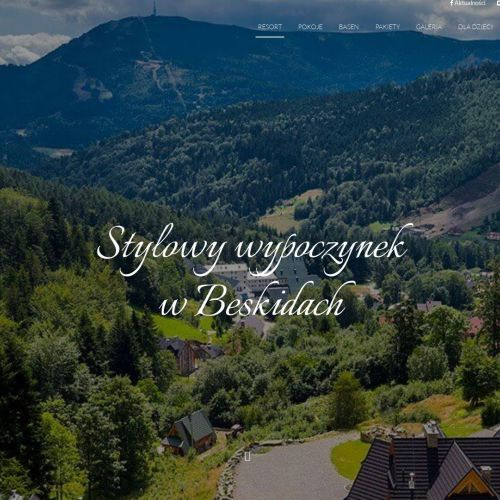 Domki z kominkiem góry - Szczyrk