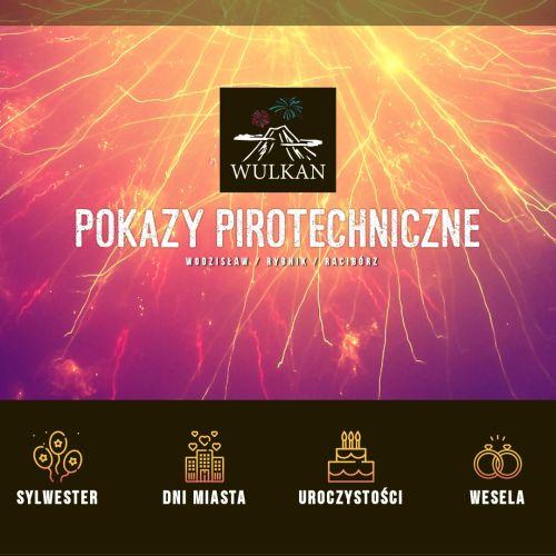 Pokazy sztucznych ogni śląsk w Katowicach