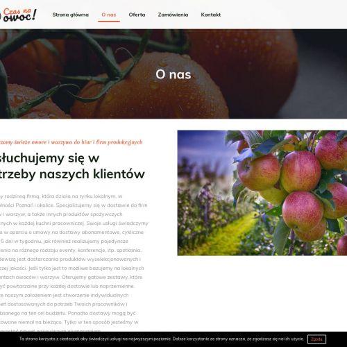 Owoce do biura cena tarnowo podgórne w Poznaniu