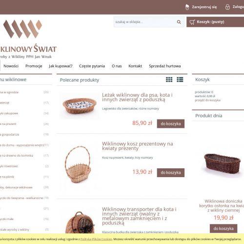 Dekoracje wiklinowe sklep online