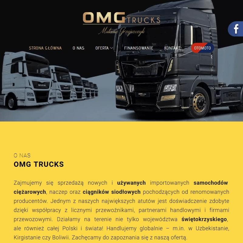 Samochody ciężarowe używane mazowieckie