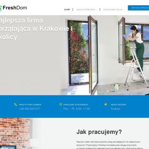 Kraków - usługi sprzątające cennik