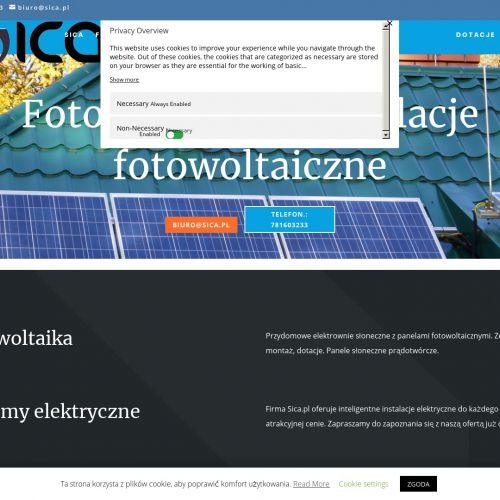 Instalacje fotowoltaiczne - Cieszyn