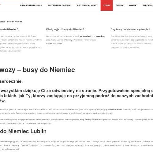 Przewozy polska niemcy - Bełchatów