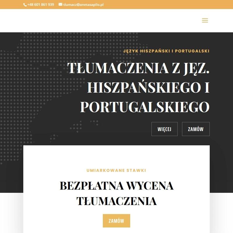 Tłumaczenie materiałów reklamowych hiszpański w Warszawie