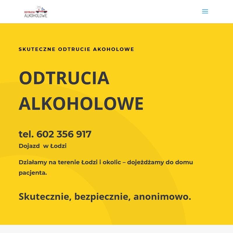 Łódź - detoks alkoholowy w domu