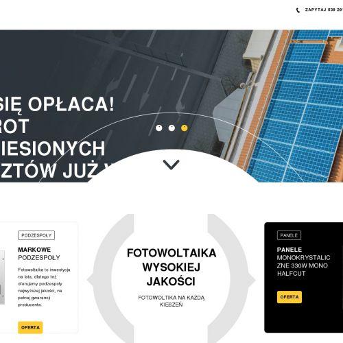 Fotowoltaika dla gospodarstw rolnych lubelskie w Puławach