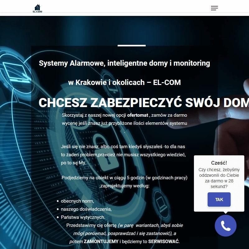 Kraków - instalacja systemów monitoringu