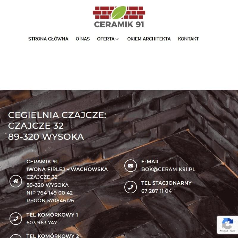 Mączka ceglana - Bydgoszcz