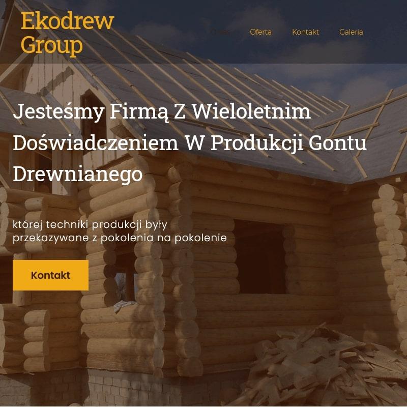 Kraków - wiaty garażowe drewniane małopolska