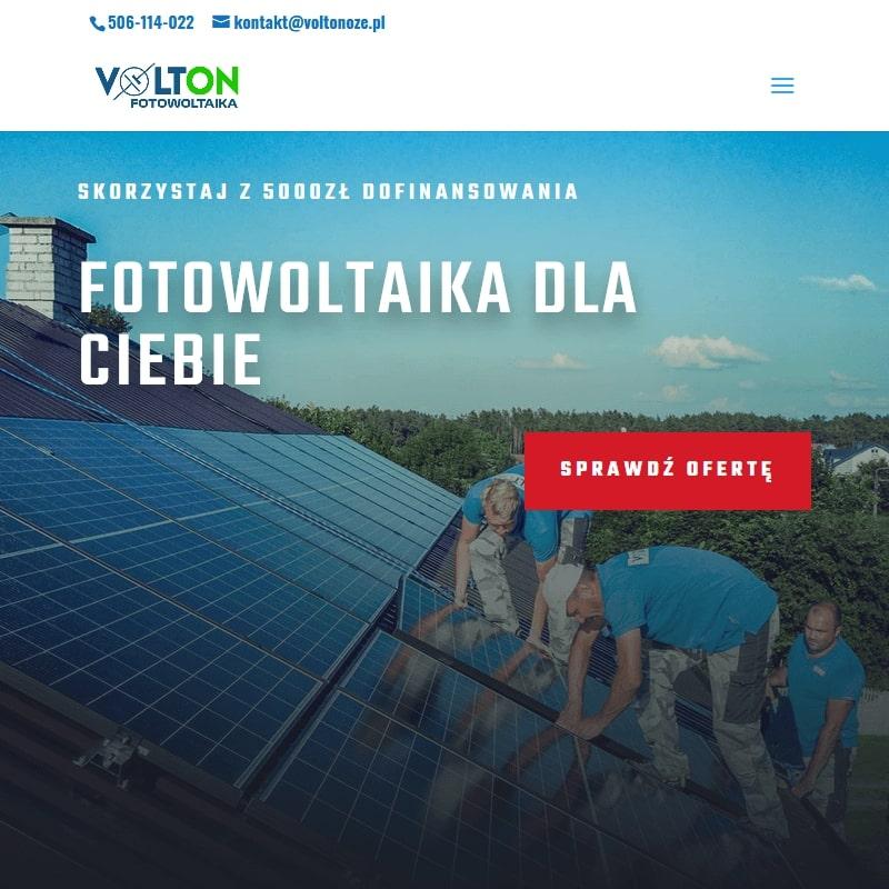 Konstrukcja wolnostojąca fotowoltaika w Białymstoku