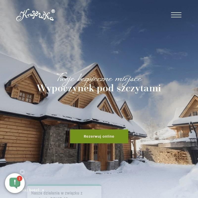 Apartament z jacuzzi w Szczyrku