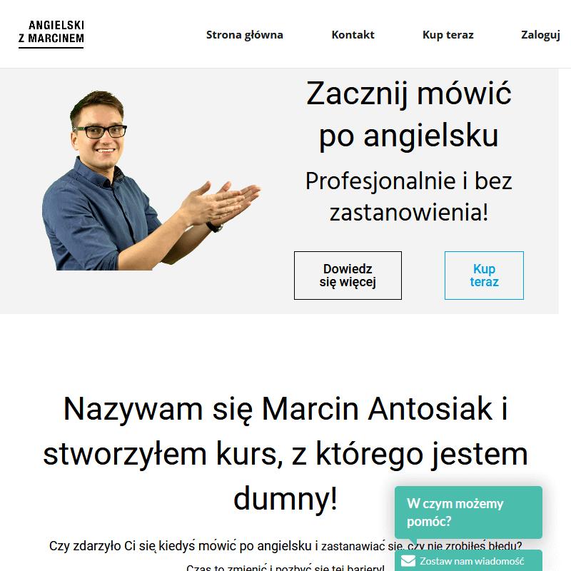 Program kursu języka angielskiego skype - Gdynia
