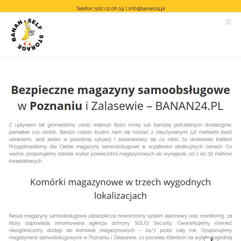 Wynajem magazynów Poznań